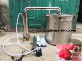 Nồi chưng cất tinh dầu hoa hồng sử dụng như thế nào? Lưu ý khi dùng?